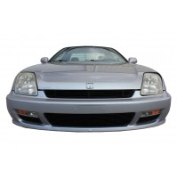 1997 Honda Prelude 4Pc Upper, Bumper & Accent Billet Grille