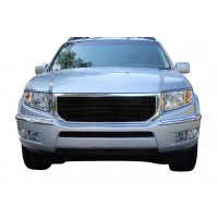 2012 Honda Ridgeline 3Pc Replacement Combo Billet Grille Kit