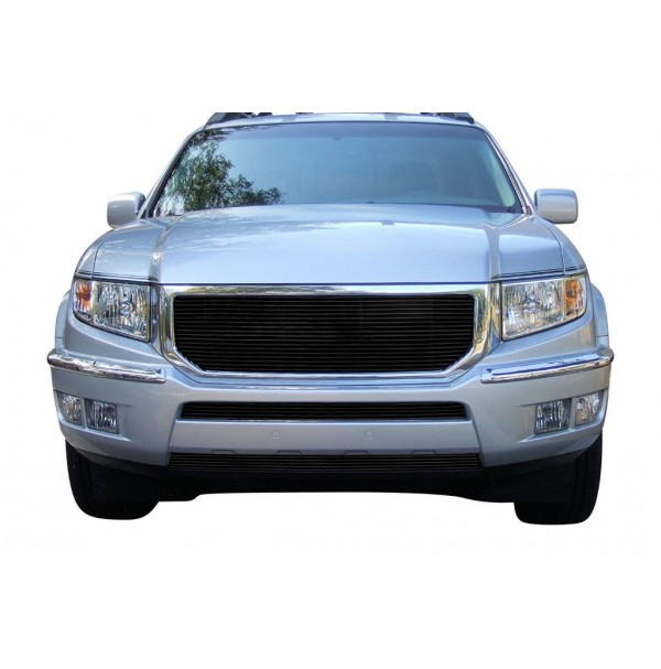 2014 Honda Ridgeline 3Pc Replacement Combo Billet Grille Kit