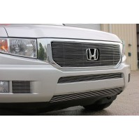 2012 Honda Ridgeline 5Pc Overlay Combo Billet Grille Kit With Cutout