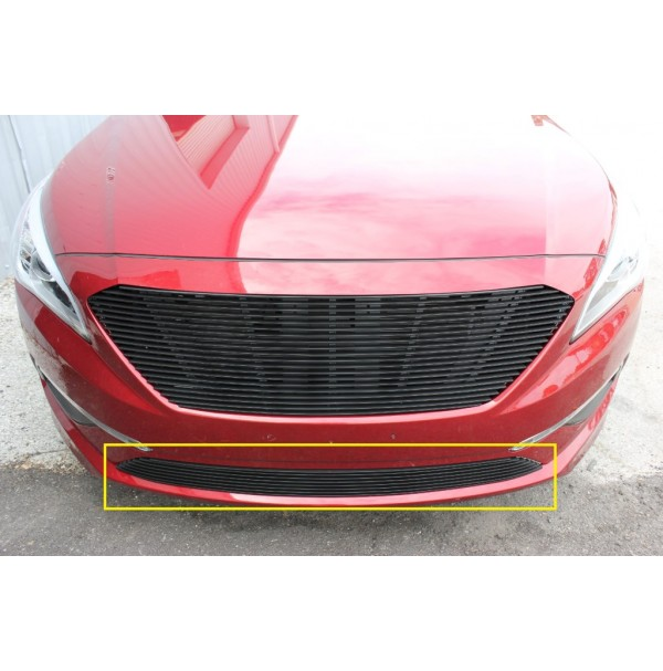2017 Hyundai Sonata 1Pc Bumper Replacement Billet Grille