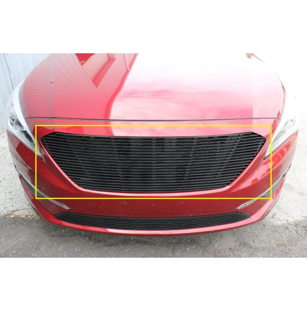 2017 Hyundai Sonata 1Pc Upper Replacement Billet Grille