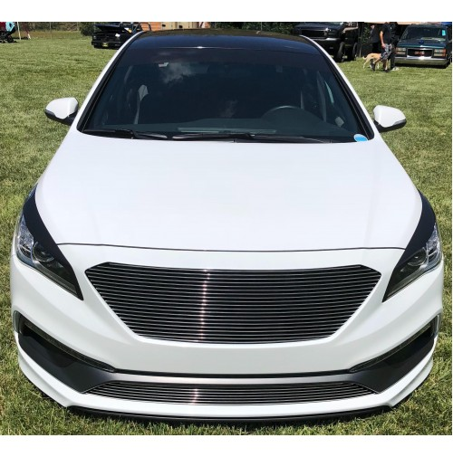 2017 Hyundai Sonata Limited Or Sport 2pc Replacement Combo Billet Grille Kit