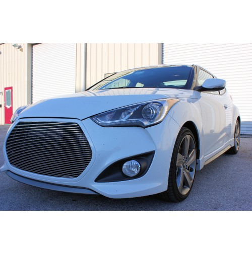 2013 Hyundai Veloster Turbo 1Pc Billet Grille Insert