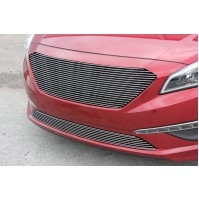 2015 Hyundai Sonata 2Pc Upper and Bumper Billet Grille Kit
