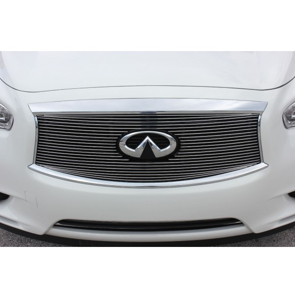 2013 Infiniti Jx35 3Pc Billet Grille Kit With Cutout