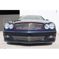 2005 Mercedes Clk 1Pc Upper Replacement Billet Grille