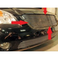 2002 Nissan Altima 1Pc Upper Replacement Billet Grille
