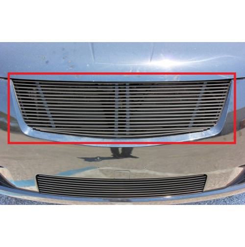 2009 Nissan Sentra 1Pc Upper Replacement Billet Grille