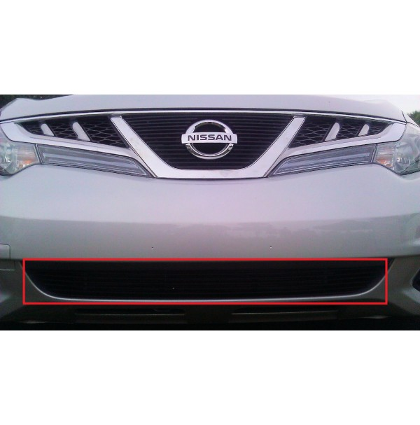2011 Nissan Murano 1Pc Bumper Overlay Billet Grille