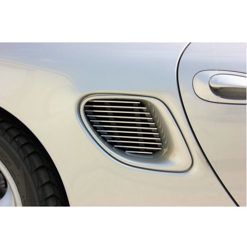 1997 Porsche Boxster 2Pc Overlay Side Vent Billet Grille Kit