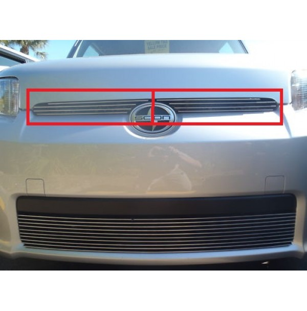 2012 Scion Xb 2Pc Upper Overlay Billet Grille Kit