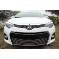 2016 Toyota Corolla S 2Pc Upper Billet Grille Kit