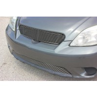 2003 Toyota Matrix 2Pc Upper Replacement /Bumper Billet Grille