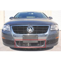 2006 Volkswagen Passat 1Pc Replacement Center Bumper Billet Grille