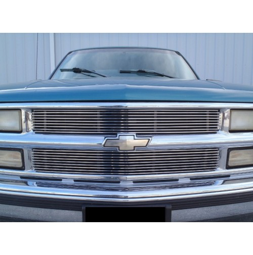 1995 Chevrolet Suburban 2Pc Upper Overlay Billet Grille Kit