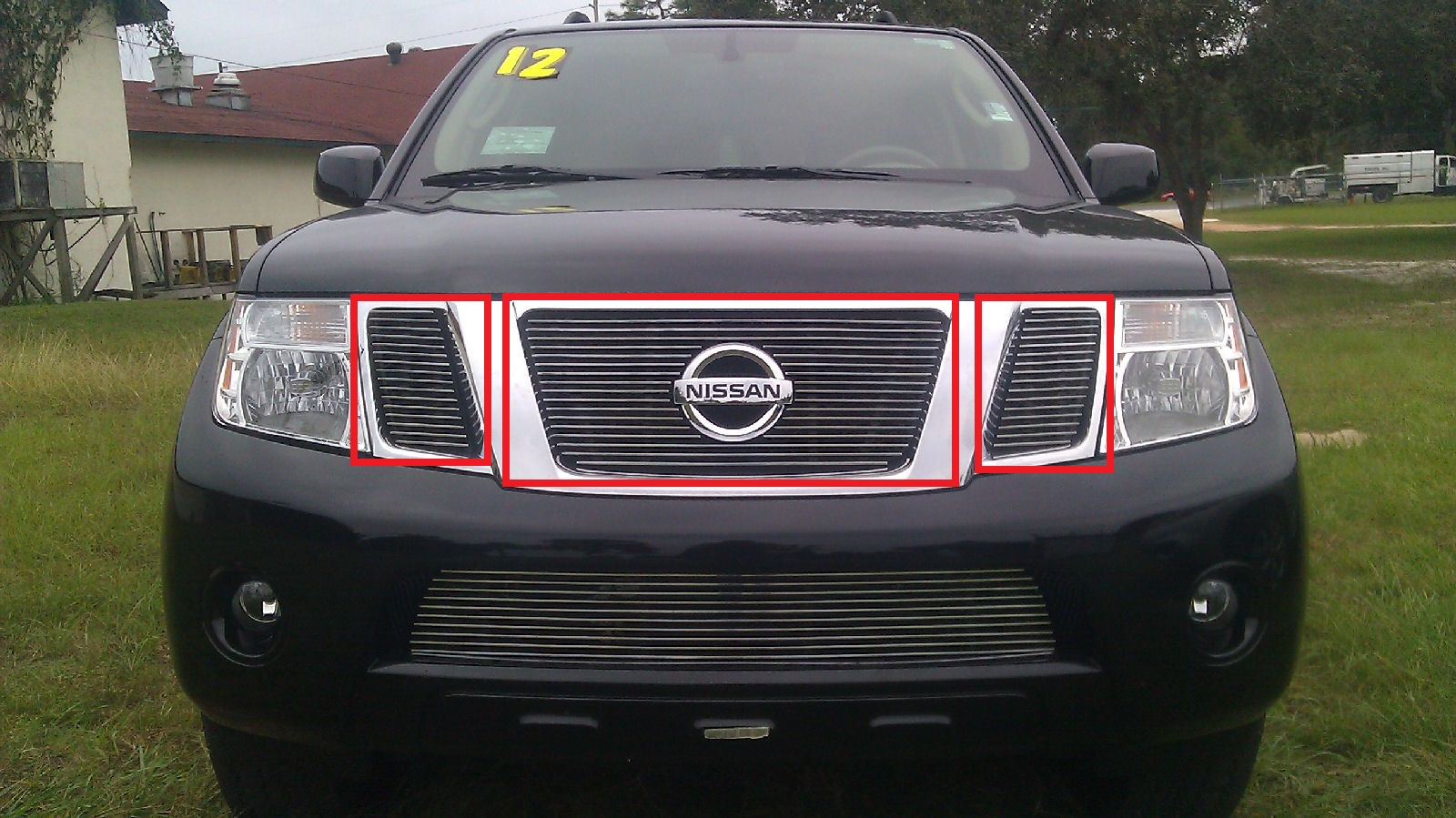2008 nissan pathfinder 1pc bumper billet grille kit 2008 nissan pathfinder 3pc upper billet grille kit quick view vanachro Image collections
